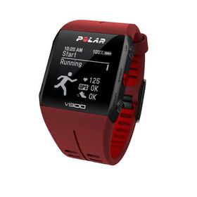 Polar V800 GPS-Sportuhr HR rot